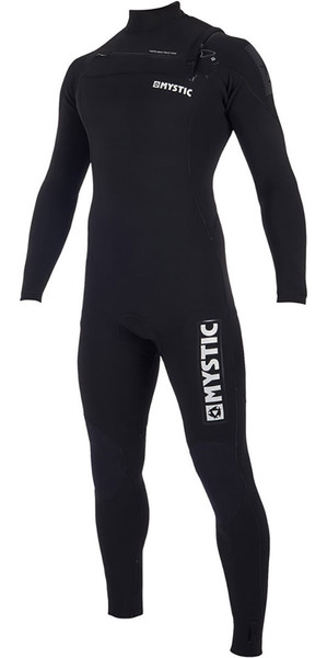 2019 Mystic Majestic 3/2mm Chest Zip Wetsuit Black