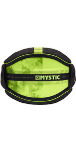 2019 Mystic Majestic Kite Waist Harness Black / Lime 190109