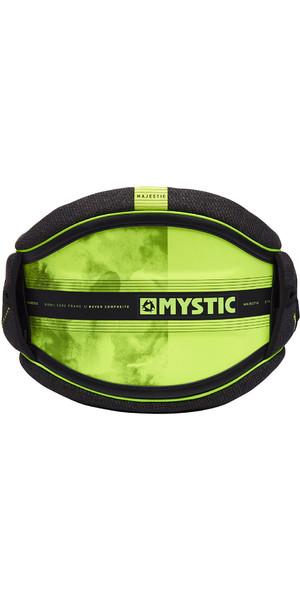 2019 Mystic Majestic Kite Waist Harness Black / Lime 190109