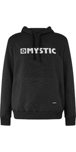 2020 Mystic Mens Brand Hooded Sweat 190035 - Caviar