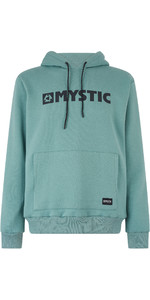 2019 Mystic Mens Brand Hooded Sweat Ocean Green 190035