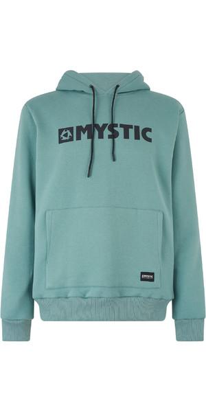 2019 Mystic Mens Brand Hooded Sweat Ocean Green 190035