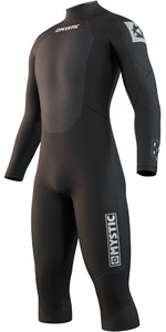 2021 Mystic Mens Brand 3/2mm Long Sleeve Short Leg Wetsuit 210313 - Black