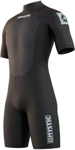 2021 Mystic Mens Brand 3/2mm Shorty Wetsuit 210316 - Black