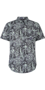 2019 Mystic Mens Calder Short Sleeved Shirt Camouflage 190065