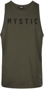 2020 Mystic Mens Flint Singlet / Vest 200090 - Brave Green