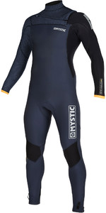 2020 Mystic Mens Majestic 4/3mm Chest Zip Wetsuit 200003 - Navy