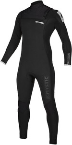 2020 Mystic Mens Majestic 3/2mm Chest Zip Wetsuit 200004 - Black