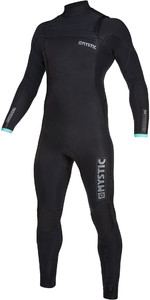 2019 Mystic Mens Marshall 3/2mm Chest Zip Wetsuit 200009 - Black / Mint