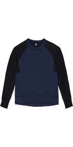 Mystic Mens Myles Sweat Black / Iris 190008