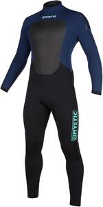2019 Mystic Mens Star 3/2mm Back Zip Wetsuit 200017 - Navy