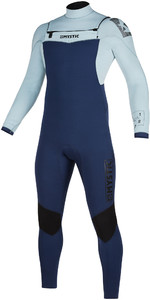 2020 Mystic Mens Star 3/2mm Double Front Zip Wetsuit 200014 - Navy / Grey