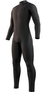 2021 Mystic Mens The One 4/3mm Zip Free Wetsuit 210071 - Black