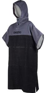 2019 Mystic Regular Poncho / Change Robe Black / Grey 190169
