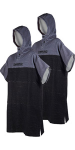2019 Mystic Regular Poncho / Change Robe Double Pack Black / Grey