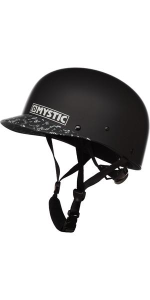 2019 Mystic Shiznit Helmet Black White 90159