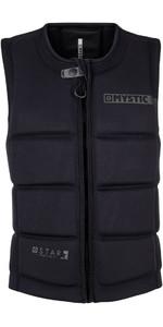 Mystic Star Front Zip Wake Impact Vest Black 180152