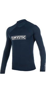 2019 Mystic Star Long Sleeve Rash Vest Navy 180112
