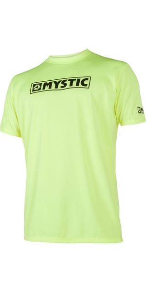 2019 Mystic Star S / S Loosefit Quick Dry Rash Vest Lime 180107