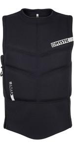 2019 Mystic Star Side Zip Kite Impact Vest Black 180088