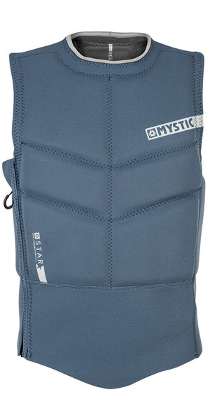 2018 Mystic Star Side Zip Kite Impact Vest Navy 180088