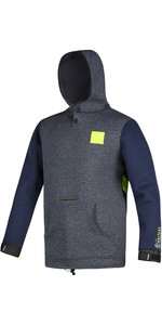 2020 Mystic Voltage Sweat Neoprene Hoody 190165 - Navy / Lime