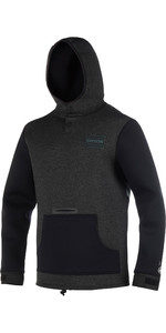 2021 Mystic Voltage Sweat Neoprene Hoody Black / White 190165