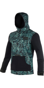 2019 Mystic Voltage Sweat Neoprene Hoody Green Allover 190165