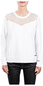 Mystic Womens Blunt Sweat Off White 180518
