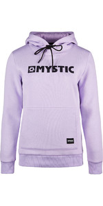 2019 Mystic Womens Brand Hooded Sweat 190537 - Pastel Lilac