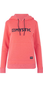 2019 Mystic Womens Brand Hoody Faded Coral 190537