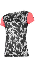 Mystic Womens Dazzled S / S Quickdry Loose Fit Tee Grey 180143