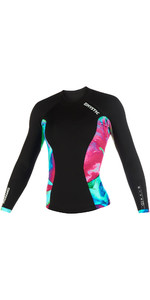 2019 Mystic Womens Diva 2mm Long Sleeve Neoprene Jacket Aurora 190084