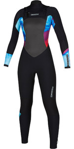 2019 Mystic Womens Diva 5/3 Double Chest Zip Wetsuit 200019 - Aurora