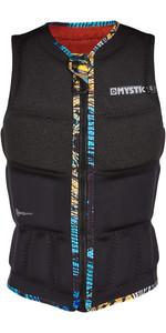 2021 Mystic Womens Gem Front Zip Wake Impact Vest 200185 - Black
