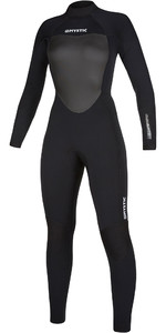 2021 Mystic Womens Star 3/2mm Back Zip Wetsuit 200028 - Black