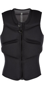 2021 Mystic Womens Star Impact Vest Kite Front Zip 200112 - Black