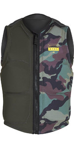 2019 Billabong Interchange Wake Vest Dark Olive N4VS05