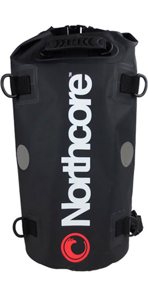2019 Northcore 40Ltr Dry Bag / Back Pack BLACK NOCO67B