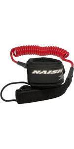 2020 Naish Coiled SUP Paddleboard Leash 93900 - Red