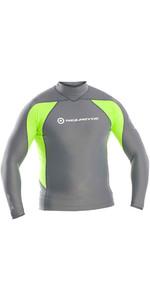 Neil Pryde Elite Long Sleeve Rash Vest Ash Green WUKRSB938