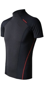 2019 Nookie Core Hybrid SS Base Layer Black / Red TH31