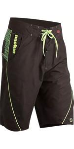 2019 Nookie Boardies Boardshorts Black / Green SW020