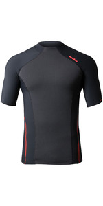 2021 Nookie Core Hybrid Short Sleeve Base Layer Black / Red TH31