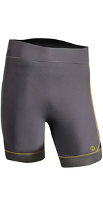 2020 Nookie Short Stride 3mm GBS Neoprene Shorts NE60 - Grey / Yellow