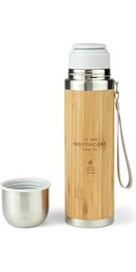 2020 Northcore Bamboo & Stainless Steel Flask  With Mug 360ml NOCO97B