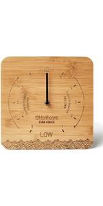 2020 Northcore Desk Top Bamboo Tide Clock NOCO88