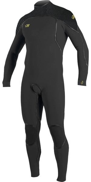 2019 O'Neill Mens Psycho One 3/2mm Back Zip Wetsuit Graphite / Jet Camo 4964