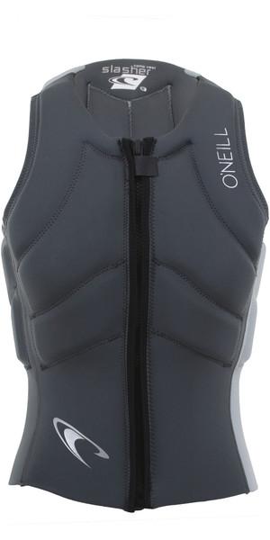 2019 O'Neill Mens Slasher Kite Impact Vest Graphite / Cool Grey 4942EU