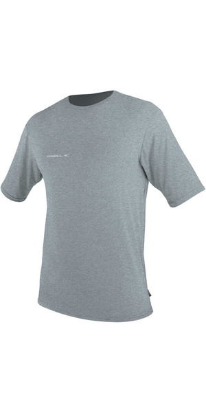 2018 O'Neill Hybrid Short Sleeve Surf Tee COOL GREY 4878